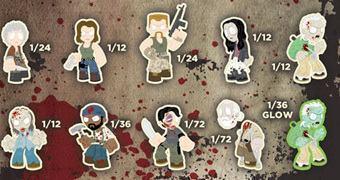 The Walking Dead Mystery Minis 3 – Mini-Figuras Funko (Blind-Box)