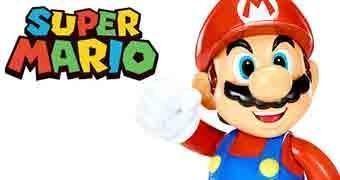 Boneco do Super Mario com 38 cm de Altura!