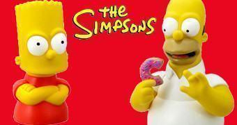 Cofres Os Simpsons: Homer e Bart