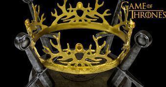 Réplica 1:1 da Coroa do Rei Joffrey Baratheon em Game of Thrones