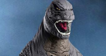 Fantasia Inflável do Monstro Godzilla!