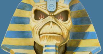 Busto Iron Maiden em Tamanho Real: Eddie Powerslave!