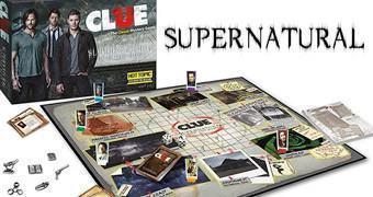 Jogo Detetive (Clue) da Série Supernatural