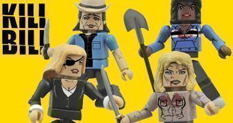 Kill Bill Minimates: Esquadrão das Víboras Assassinas