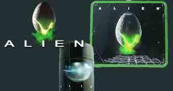 Lancheira Alien Egg Distressed