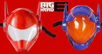 Máscaras de Big Hero 6 – Os Novos Heróis: Baymax e Hiro