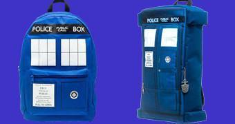 Mochilas Doctor Who TARDIS