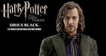 Sirius Black (Gary Oldman) Action Figure Perfeita – Harry Potter e a Ordem da Fênix
