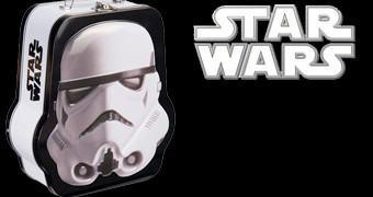 Lancheira Star Wars Capacete Stormtrooper