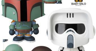 Boba Fett VCD e Scout Trooper VCD – Star Wars X A Bathing Ape X Medicom