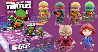 Mini-Figuras Blind-Box Loyal Subjects Tartarugas Ninjas!