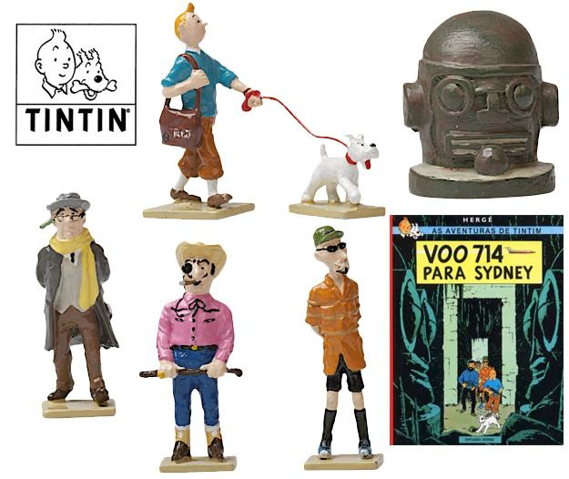 Tintin-Flight-714-Mini-Series-Figuras-01