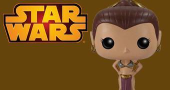 Star Wars Funko Pop! Slave Leia com Biquíni de Metal