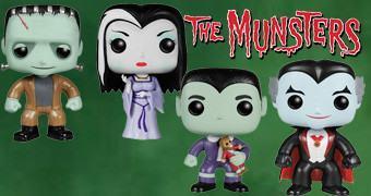 Bonecos Funko Pop! da Família Munster