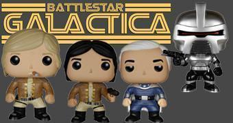 Bonecos Funko Pop! Battlestar Galactica (Versão Clássica)