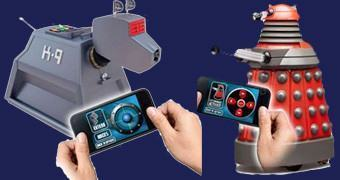Doctor Who Bluetooth: K9 e Dalek Controlados por Smartphone ou Tablet