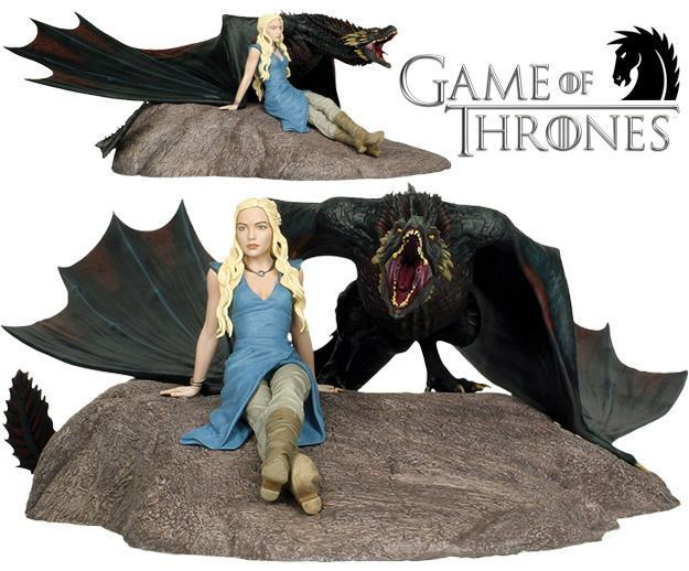 Estatua-Game-of-Thrones-Dark-Horse-Daenerys-e-Drogon-01
