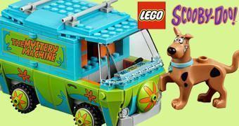 LEGO Scooby Doo com Mystery Mansion, Mystery Machine Van e Outros!