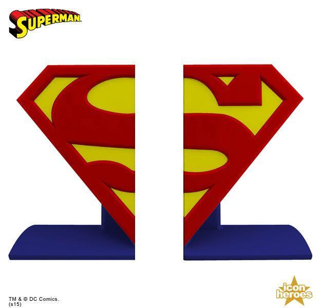 Superman-Logo-Bookends-05