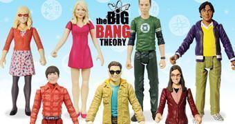 Action Figures The Big Bang Theory 3.75″ Série 01