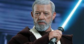 Obi-Wan Kenobi (Alec Guinness) em Star Wars Episódio IV – Action Figure Perfeita Hot Toys Star Wars