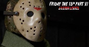 Action Figure Retro do Filme Sexta-Feira 13 Parte VI: Jason Vive
