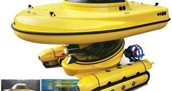 Brinquedo de Gente Grande: Veículo Anfíbio Submarino por 300 Mil Dólares!