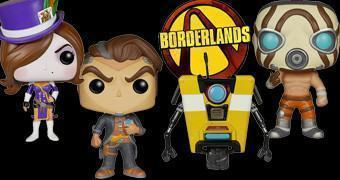 Bonecos Funko Pop! do Game Borderlands