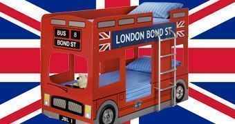 Cama Beliche Ônibus London Bus Bunk Bed