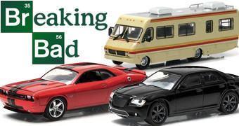 Carrinhos Die-Cast 1:64 da Série Breaking Bad