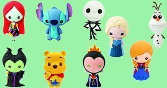 Chaveiros Disney Series 2 Laser Cut Figural Keyrings
