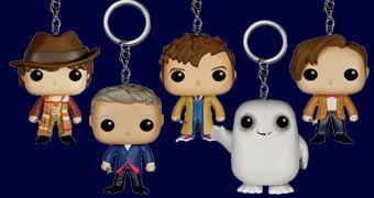 Chaveiros Funko Pocket Pop! Keychain Doctor Who