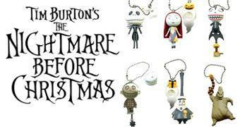 Mini-Chaveiros The Nightmare Before Christmas (O Estranho Mundo de Jack)