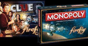 Jogos de Tabuleiro da Série Firefly: Detetive e Monopólio