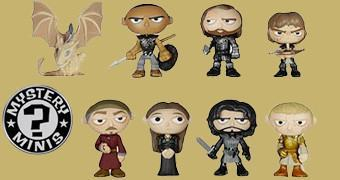 Game of Thrones Mystery Minis 2 – Mini-Figuras Funko Tipo Blind-Box