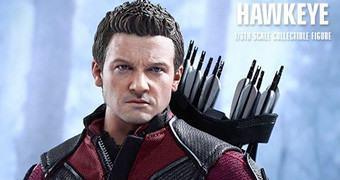 Hawkeye (Jeremy Renner) em Vingadores: Era de Ultron – Action Figure Perfeita Hot Toys