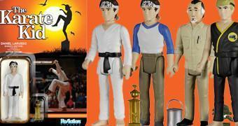 Karate Kid Action Figures Funko ReAction em Estilo Retro