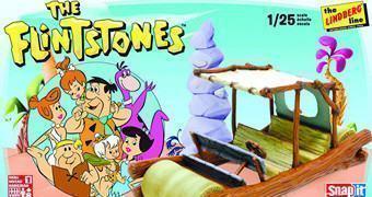Kit de Montar do Flintmobile, Carro Pré-Histórico dos Flintstones