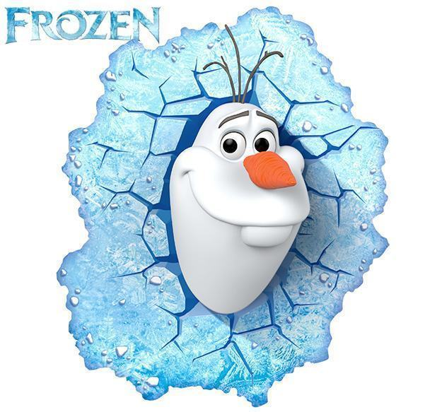 Luminaria-Frozen-Olaf-3D-LED-Light-01