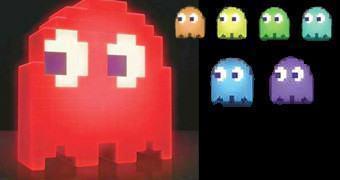 Luminária Pac-Man 8-Bit