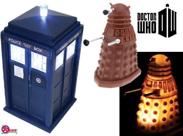 Luminarias-Doctor-Who-Tardis-e-Dalek-01