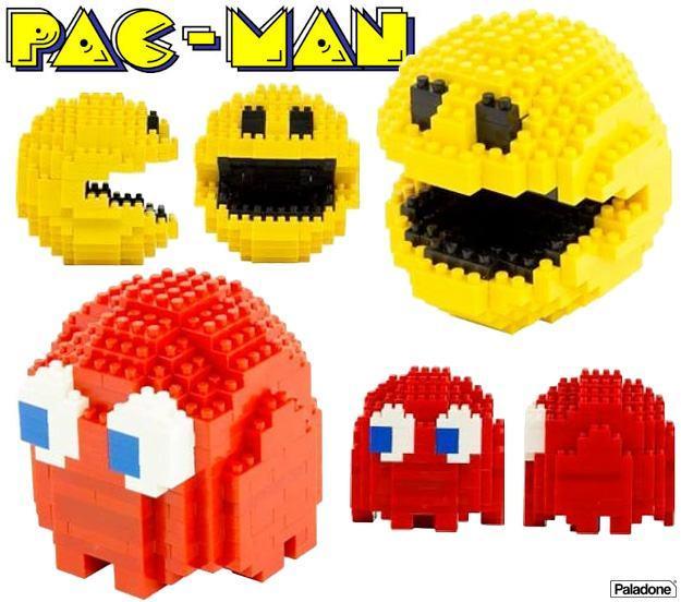 Pac-Man-Blocos-de-Montar-tipo-LEGO-01