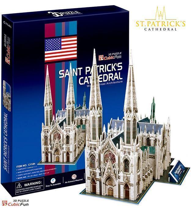 Quebra-Cabeca-3D-St-Patrick-Cathedral-3D-Puzzle-01