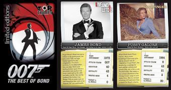 Jogo Super Trunfo James Bond 007 – Best of Bond