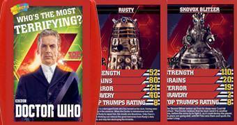 Jogo Super Trunfo Doctor Who Vilões: Qual o Mais Aterrorizante?