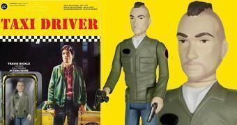 Taxi Driver: Robert De Niro como Travis Bickle – Action Figure Funko ReAction em Estilo Retro