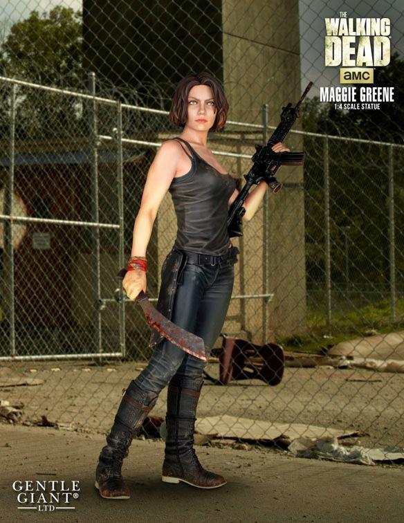 The-Walking-Dead-Maggie-Greene-Statue-01