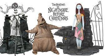 "Action Figures Nightmare Before Christmas Select 7"" Série 1"
