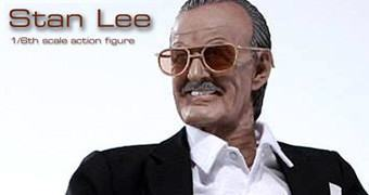 Stan Lee Action Figure Escala 1:6