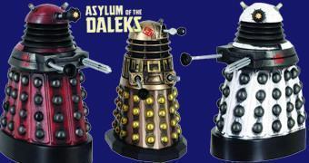 """Action Figures Doctor Who """"Asylum of the Daleks"""""""